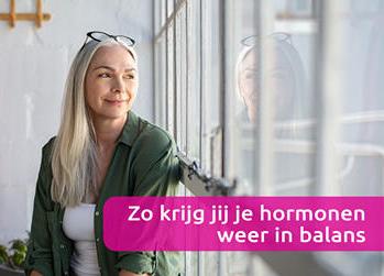 Welke hormonen helpen je door de menopauze ?